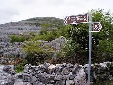 Chamin de Randonnée en Burren